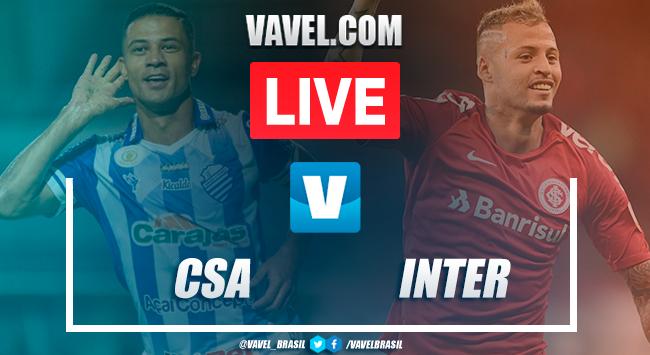 Gol e melhores momentos de CSA 1x0 Internacional pelo Campeonato Brasileiro 2019
