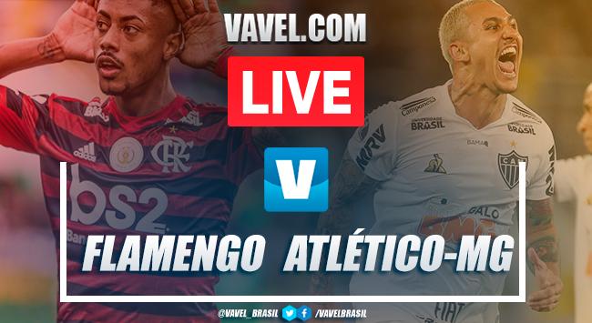 Flamengo x Atlético-MG AO VIVO hoje pelo Brasileirão (3-1)