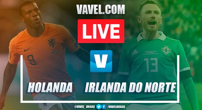 Melhores momentos Holanda x Irlanda do Norte pelas Eliminatórias da Euro