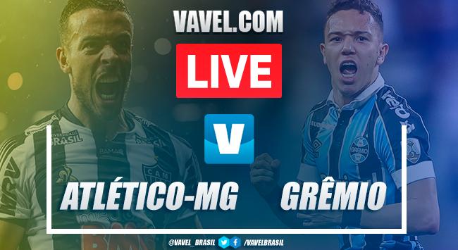 Gols e melhores momentos Atlético-MG 1x4 Grêmio pelo Brasileirão
