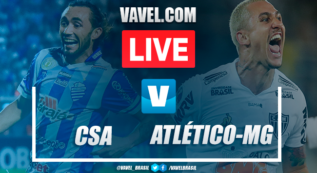 Resultado CSA x Atlético-MG no Campeonato Brasileiro 2019 (2-2)