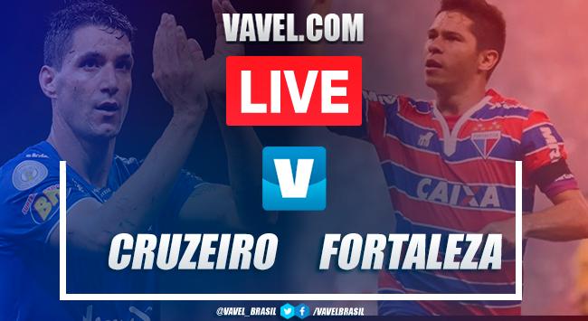 Gols e melhores momentos Cruzeiro 1x1 Fortaleza pelo Brasileirão