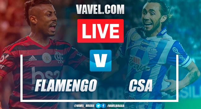 Gols e melhores momentos Flamengo 1x0 CSA pelo Campeonato Brasileiro
