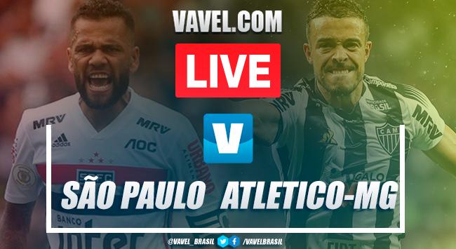 Gols e melhores momentos São Paulo 2x0 Atlético-MG pelo Campeonato Brasileiro 2019