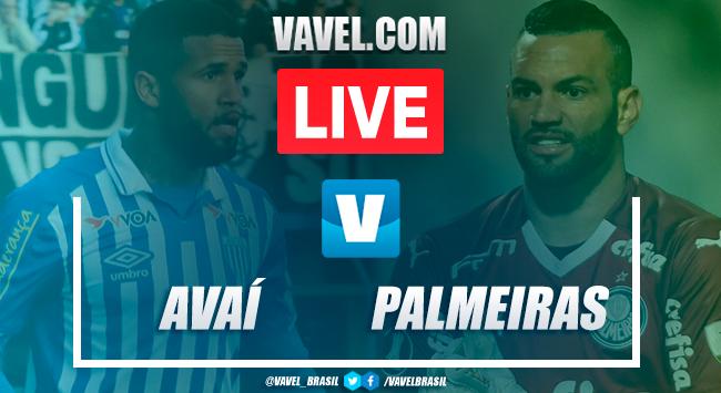Gols e melhores momentos Avaí 1x2 Palmeiras pelo Campeonato Brasileiro 2019