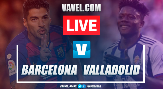 Gols e melhores momentos Barcelona 5x1 Valladolid pelo Campeonato Espanhol