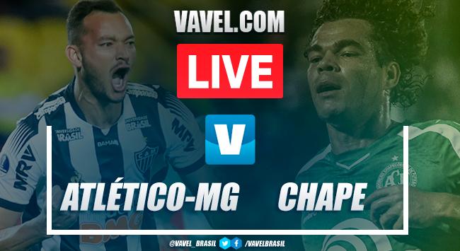 Gols e melhores momentos Atlético-MG 0x2 Chapecoense pelo Brasileirão