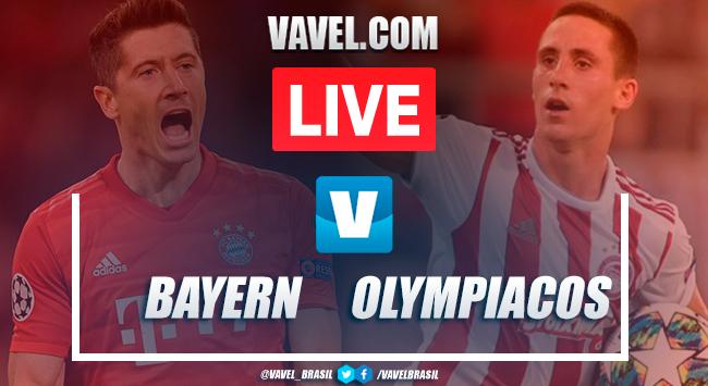 Gols e melhores momentos Bayern de Munique 2x0 Olympiacos pela Champions League