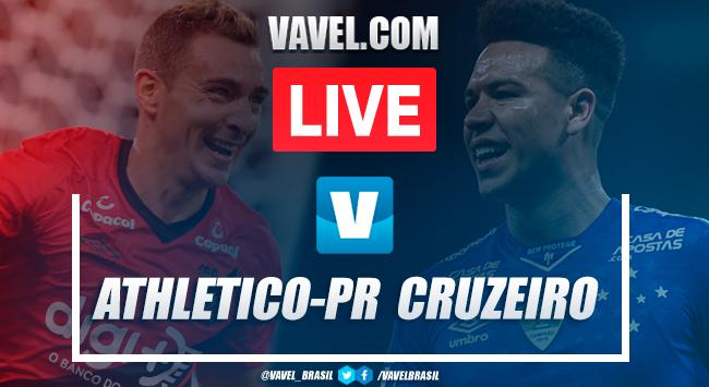 Melhores momentos Athletico-PRx Cruzeiro pelo Brasileirão