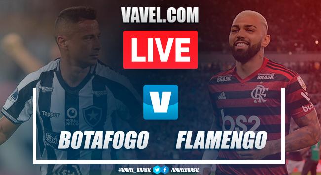 Gol e melhores momentos de Botafogo 0x1 Flamengo AO VIVO hoje (0-1)