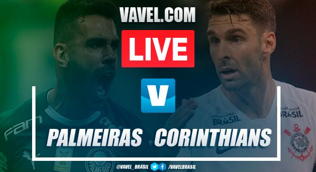 Resultado e gols para Palmeiras 1x1 Corinthians pelo Brasileirão
