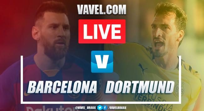 Gols e melhores momentos Barcelona 3x1 Borussia Dortmund pela Champions League