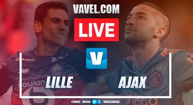 Melhores Momento de Lille x Ajax pela Champions League (0-2)