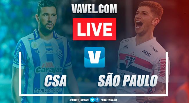 Gols e melhores momentos de CSA x São Paulo pelo Campeonato Brasileiro da Série A 2019 (1-2)