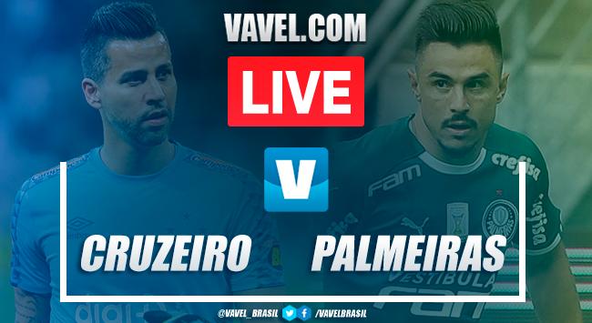 Gols e melhores momentos Cruzeiro 0x2 Palmeiras pelo Brasileirão