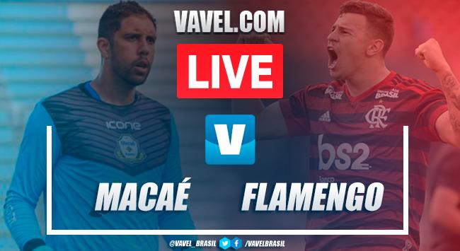 Melhores momentos Macaé 0x0 Flamengo pelaTaça Guanabara
