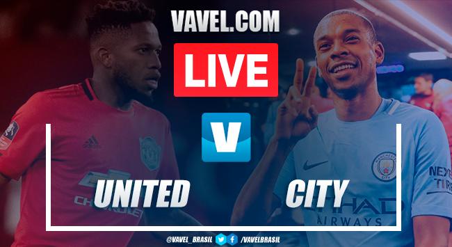 Gol e melhores momentos de Manchester City x Manchester United pela Copa da Liga (0-1)