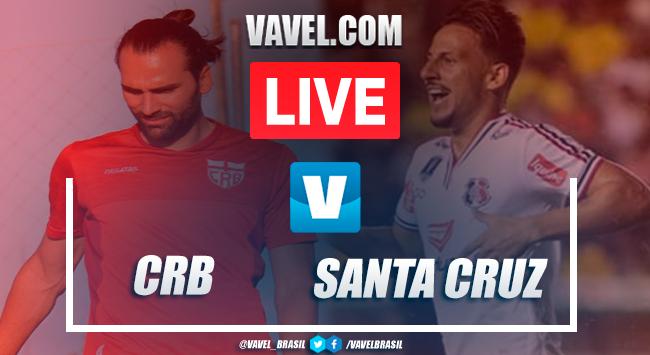 Gol e melhores momentos de CRB x Santa Cruz pela Copa do Nordeste (1-0)