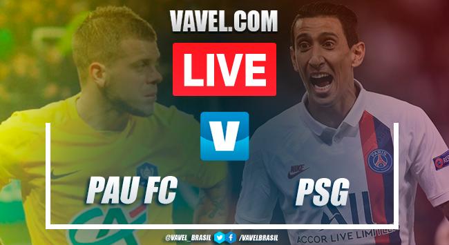 Gols e melhores momentos de Pau FC x Paris Saint-Germain pela Copa da França (0-2)
