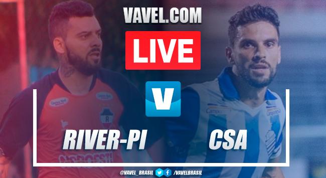 Gols e melhores momentos de River x CSA pela Copa do Nordeste (3-1)