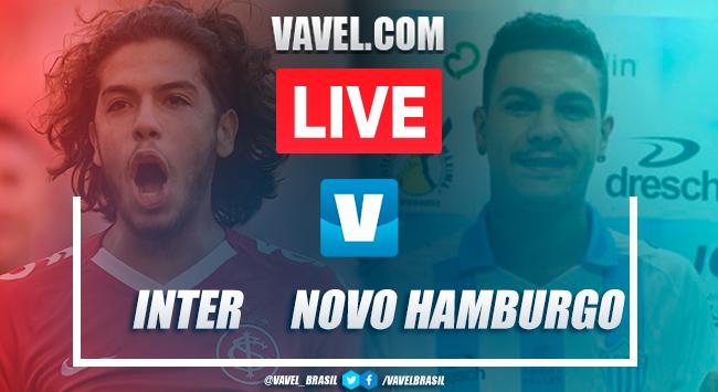 Gols e melhores momentos Inter 2x0 Novo Hamburgo pelo Campeonato Gaúcho