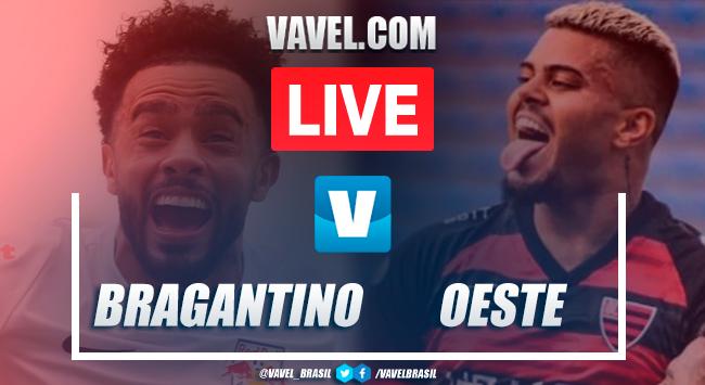 Gols e melhores momentos Bragantino 3x0 Oeste pelo Campeonato Paulista