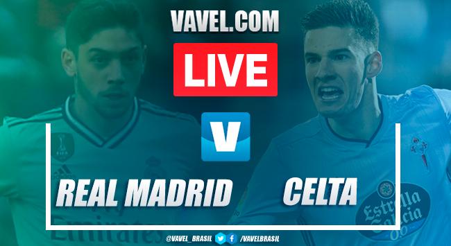 Melhores momentos Real Madrid 2 x 2 Celta de Vigo pelo Campeonato Espanhol