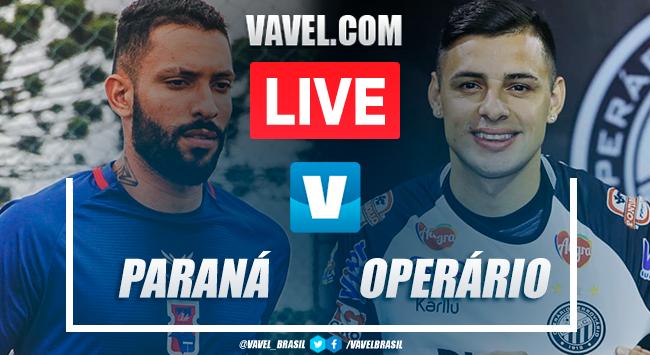 Gol e melhores momentos Paraná 1x0 Operário pelo Campeonato Paranaense 2020