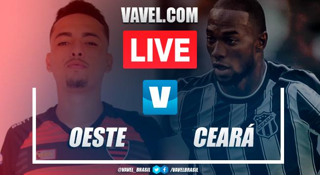 Gols e melhores momentos Oeste 1 (2) x (4) 1 Ceará pela Copa do Brasil