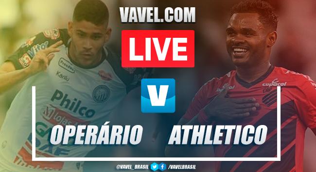 Gols e melhores momentos Operário 1x3 Athletico-PR pelo Campeonato Paranaense 2020
