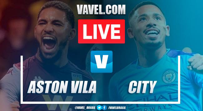 Gols e melhores momentos de Aston Villa x Manchester City pela Copa da Liga Inglesa (1-2)