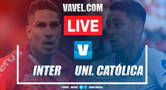 Gols e melhores momentos Inter 3x0 Universidad Católica pela Copa Libertadores 2020