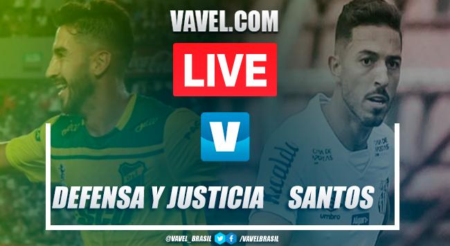 Gols e melhores momentos para Defensa y Justicia 1x2 Santos pela Copa Libertadores 2020
