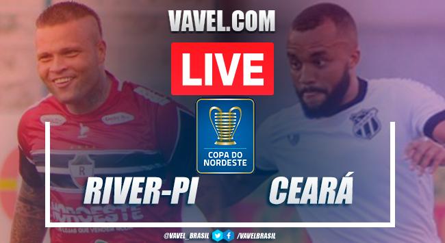 Gols e melhores momentos de River-PI x Ceará pela Copa do Nordeste (0-4)
