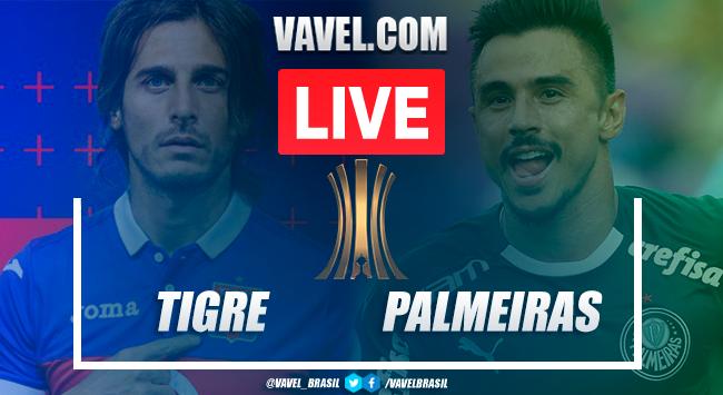 Gols e melhores momentos para Palmeiras 5x0 Tigre pela Libertadores 2020
