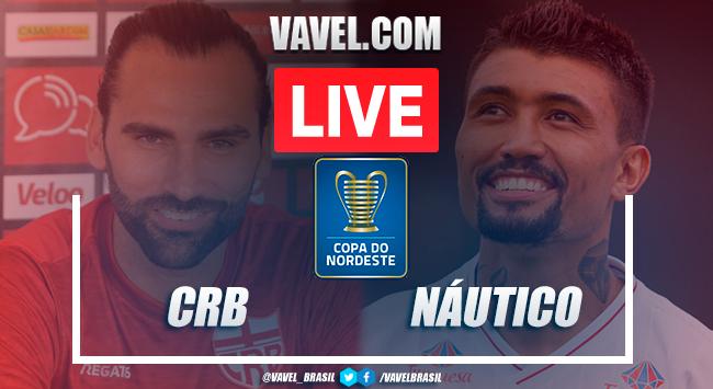 Gols e melhores momentos de CRB x Náutico pela Copa do Nordeste (2-3)