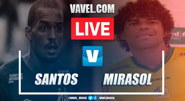 Assistir jogo Santos x Mirassol AO VIVO online pelo Campeonato Paulista 2020