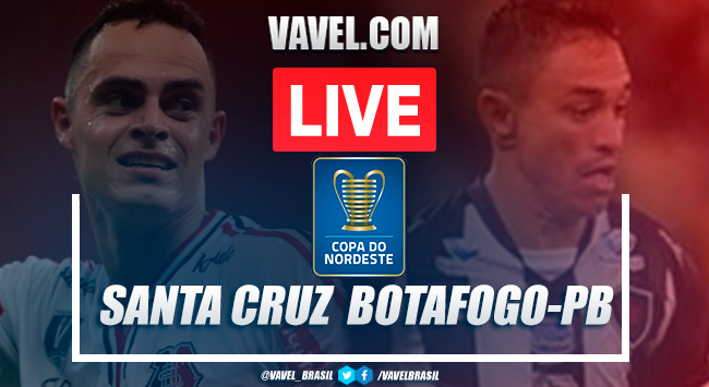 Gols e melhores momentos de Santa Cruz x Botafogo da Paraíba na Copa do Nordeste (3-0)
