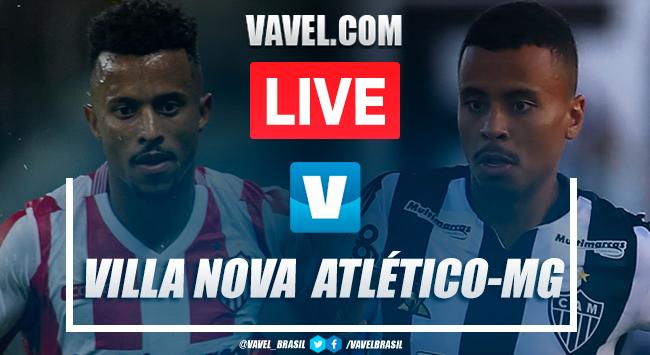 Gols e melhores momentos Villa Nova 1x3 Atlético-MG pelo Campeonato Mineiro