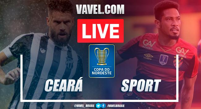 Gols e melhores momentos Ceará 2x1 Sport pela Copa do Nordeste 2020