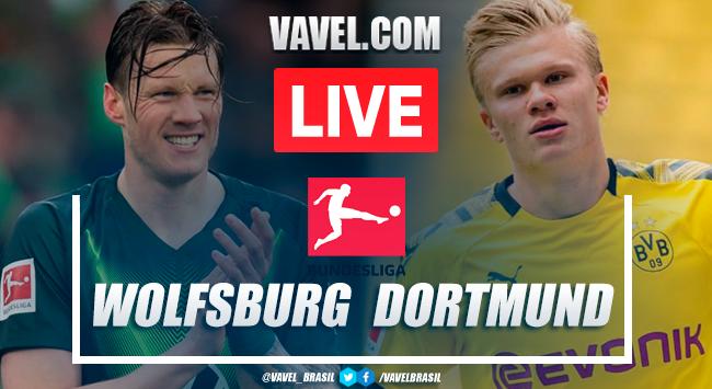 Gols e melhores momentos Wolfsburg x Borussia Dortmund pela Bundesliga (0-2)