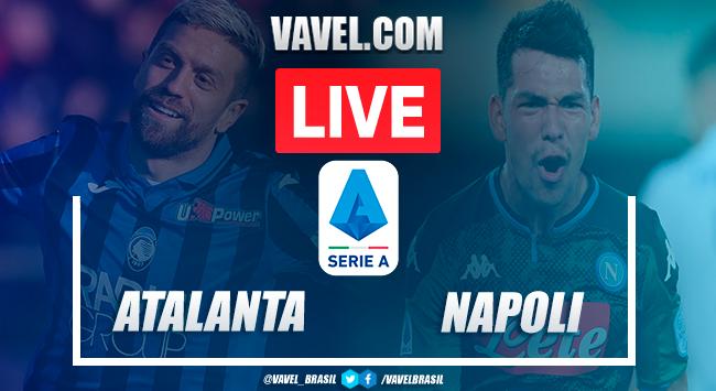 Atalanta x Napoli AO VIVO agora na Serie A (1-0)