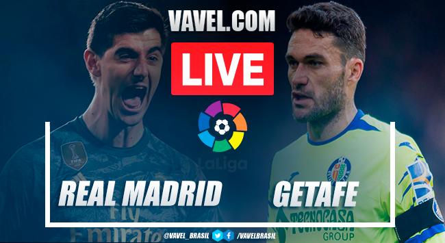 Assistir jogo Real Madrid x Getafe AO VIVO online em LaLiga