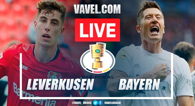 Gols e melhores momentos de Bayer Leverkusen x Bayern de Munique pela DFB-Pokal (2-4)