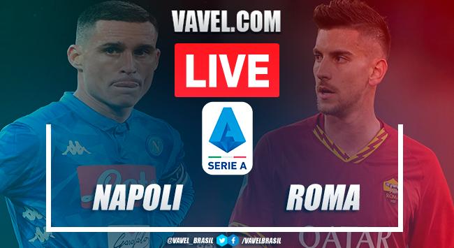Gols e melhores momentos de Napoli x Roma pela Serie A (2-1)