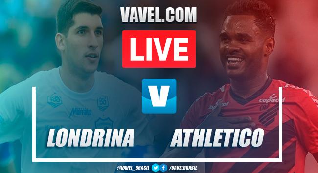 Gols e melhores momentos de Londrina 1 x 1 Athletico-PR pelo Campeonato Paranaense