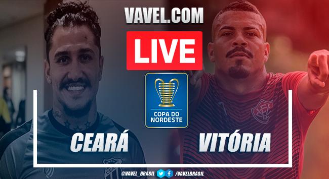Gol e melhores momentos Ceará 1 x 0 Vitória pela Copa do Nordeste 2020