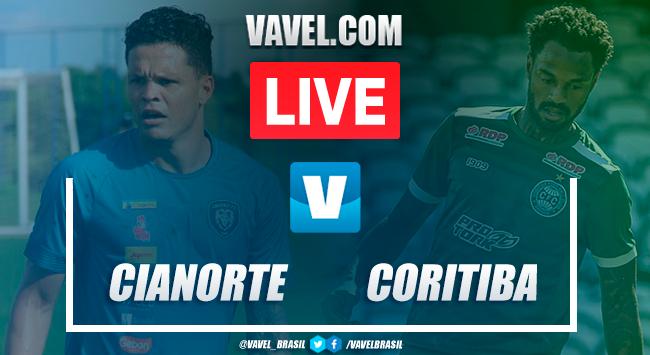 Cianorte x Coritiba (2-3): Gols e melhores momentos