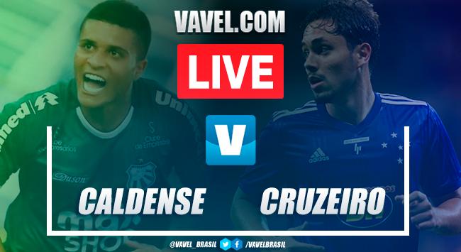 Gol e melhores momentos Caldense 0x1 Cruzeiro pelo Campeonato Mineiro