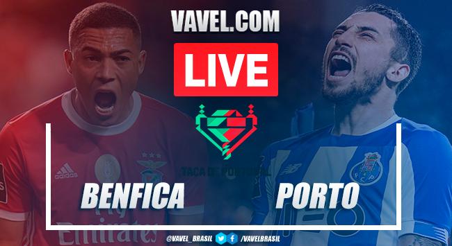 Benfica x Porto em direto e online pela final da Taça de Portugal 2020